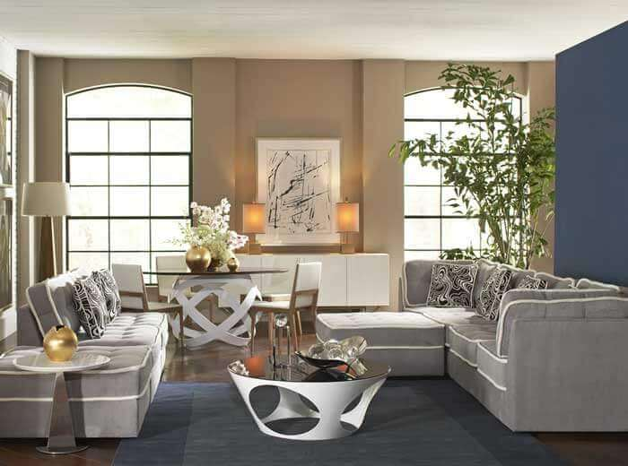 Clean furniture rental in Brazil